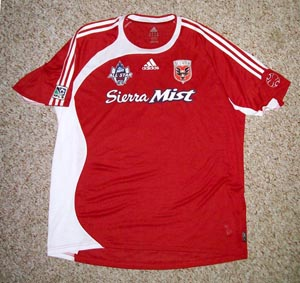 5b1f0f949 The jersey of MLS All-Star and all-time leading scorer - DC UNITED s ...